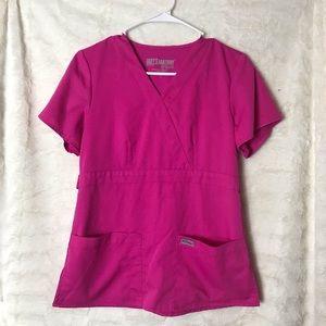 Women's Greys Anatomy Scrub Top